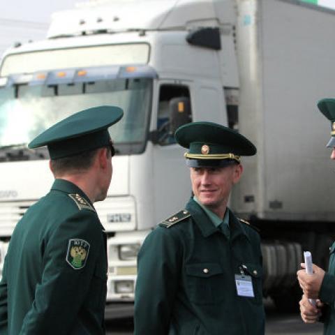 В Крыму запустили онлайн-сервис загруженности КПП на границе с Украиной.