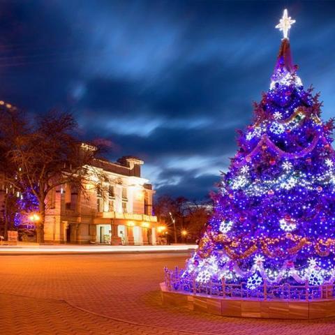 Новый год в Евпатории: что? где? когда?