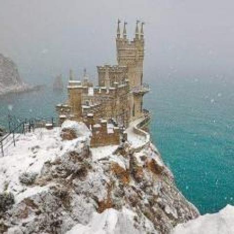 В Крыму на Новый год синоптики обещают снег.
