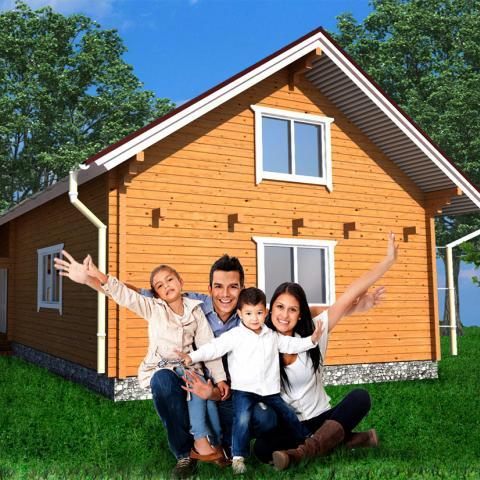 На средства маткапитала разрешили строить дома на садовых участках.