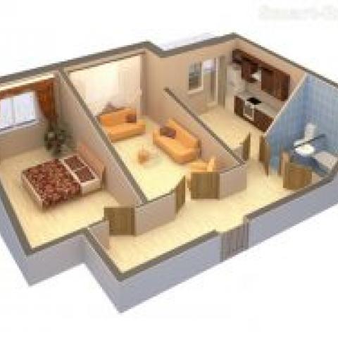 На что обратить внимание при покупке квартиры: планировка.