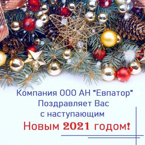 С Наступающим 2021 Новым годом!